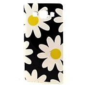 Para Funda Samsung Galaxy Carcasa Funda Diseños Cubierta Trasera Funda Flor TPU para Samsung A5