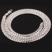 Hombre Mujer Chapado en Plata Chapado en Oro Legierung Gargantillas Collares de cadena Collar vintage - Chapado en Plata Chapado en Oro
