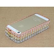 아이폰 6 플러스에 대한 특별한 디자인의 다이아몬드 금속 하드 bamper 프레임 (모듬 된 색상)