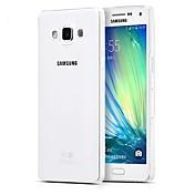 Etui Til Samsung Galaxy Samsung Galaxy Etui Ultratynn Gjennomsiktig Bakdeksel Helfarge TPU til A5(2016) A3(2016) A9 A8 A7 A5 A3