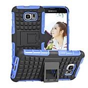 Para Funda Samsung Galaxy Antigolpes / con Soporte Funda Cubierta Trasera Funda Armadura Policarbonato Samsung S6