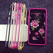 Funda Para Apple iPhone 8 iPhone 8 Plus Funda iPhone 5 iPhone 6 iPhone 6 Plus iPhone 7 Plus iPhone 7 Transparente Marco Antigolpes Color