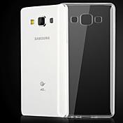 용 삼성 갤럭시 케이스 투명 케이스 뒷면 커버 케이스 단색 TPU Samsung A3