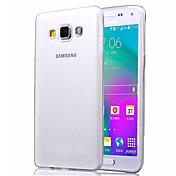 Funda Para Samsung Galaxy Funda Samsung Galaxy Transparente Funda Trasera Color sólido TPU para A5