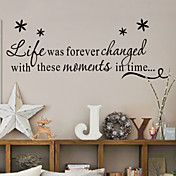 risa etiqueta de la pared de la familia el amor vivo zy8175 decorativa adesivo de parede etiqueta de la pared de vinilo removible