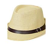 Hombre Cestería Celada-Ocasión especial Casual Al Aire Libre Sombreros 1 Pieza