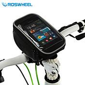 ROSWHEEL® 자전거 가방 1.5L휴대 전화 가방 / 자전거 핸들바 백 다기능 / 터치 스크린 싸이클 가방 PVC 싸이클 백Samsung Galaxy S4 / Samsung Galaxy S6 / iphone 4/18S / Iphone