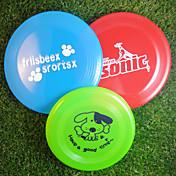 frisbee Dibujos animados El plastico Para Juguete para Perro