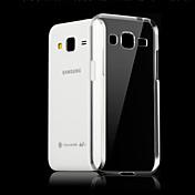 Etui Til Samsung Galaxy Samsung Galaxy Etui Gjennomsiktig Bakdeksel Helfarge TPU til Core Prime