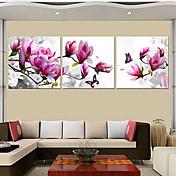 Abstracto Tres Paneles Lienzos Estampado Decoración de pared For Decoración hogareña
