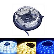 5 m Tiras de Luces RGB 60/m LED 5050 SMD Blanco Cálido / RGB / Blanco 12 V / IP44