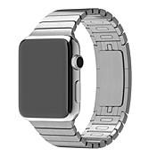 Ver Banda para Apple Watch Series 3 / 2 / 1 Apple Correa de Muñeca Hebilla de la mariposa Metal