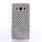 Para Funda Samsung Galaxy Diamantes Sintéticos Funda Cubierta Trasera Funda Dibujo 3D TPU Samsung J7 / J5 / J1 / E7 / E5