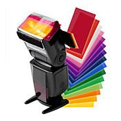 flash de la parte superior del filtro universal de 12 colores