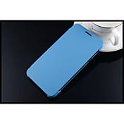 제품 삼성 갤럭시 케이스 케이스 커버 풀 바디 케이스 한 색상 인조 가죽 용 Samsung J7