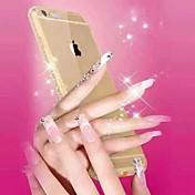 llamada entrante destello de diamante del capítulo de parachoques de la contraportada para el iphone 6s más / 6 Plus (colores surtidos)