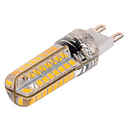 YWXLIGHT® 1000 lm G9 Bombillas LED de Mazorca T 72 leds SMD 2835 Regulable Blanco Cálido Blanco Fresco AC 220-240V