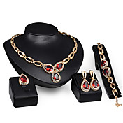 Collar / Pendiente / Brazalete / Anillo (Aleación / Baño en Oro)- Vintage / Bonito / Fiesta / Trabajo para Mujer