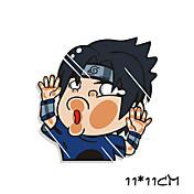 naruto sasuke uchiha divertido etiqueta engomada del coche pared de la ventana de coche estilo coche calcomanía