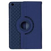 Etui Til iPad Air med stativ Autodvale / aktivasjon Origami 360° rotasjon Heldekkende etui Helfarge PU Leather til iPad Air