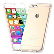 Funda Para Apple iPhone 6 iPhone 6 Plus Ultrafina Congelada Traslúcido Funda Trasera Color sólido Dura ordenador personal para iPhone 6s