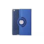 Funda Para iPad 4/3/2 con Soporte Activado / Apagado Automático Origami Rotación 360º Funda de Cuerpo Entero Color sólido Cuero de PU para