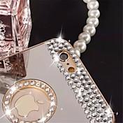 순수 핸드 메이드 다이아몬드 아이폰 6 플러스 / 6S를 다이아몬드 거울 뒷면 케이스를 빛나는 플러스 (모듬 색상)