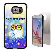 Para Funda Samsung Galaxy Diseños Funda Cubierta Trasera Funda Búho Policarbonato SamsungS6 edge plus / S6 edge / S6 / S5 Mini / S5 / S4