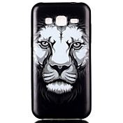 용 삼성 갤럭시 케이스 패턴 케이스 뒷면 커버 케이스 동물 TPU Samsung J2 / J1 / Grand Prime / Grand Neo / Core Prime