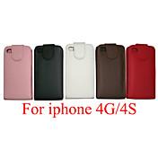 Para iPhone 8 iPhone 8 Plus Carcasa Funda Cuerpo Entero Funda Dura Cuero Sintético para iPhone 8 Plus iPhone 8 iPhone 4s/4