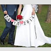 Boda Cumpleaños Pedida San Valentín Papel perlado Decoraciones de la boda Tema Playa Tema Jardín Tema Asiático Tema Floral Tema Lazo Tema