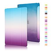 Etui Til iPad Air Origami Heldekkende etui Fargegradering PU Leather til iPad Air