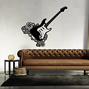 Formas Música Pegatinas de pared Calcomanías de Aviones para Pared Calcomanías Decorativas de Pared, Vinilo Decoración hogareña Vinilos