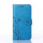용 Samsung Galaxy Note7 카드 홀더 / 지갑 / 스탠드 / 플립 케이스 풀 바디 케이스 꽃장식 인조 가죽 Samsung Note 7 / Note 5 / Note 4