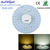 천장 조명 100 LED가 SMD 2835 장식 따뜻한 화이트 차가운 화이트 1800lm 3000/6000K AC 110-130 AC 220-240V