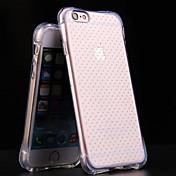 TPU caso trasero transparente bolsa de aire para el iphone 6p / 6SP