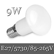 E26/E27 LED 글로브 전구 R63 30LED LED가 SMD 5730 밝기조절가능 장식 따뜻한 화이트 차가운 화이트 900lm 6000-6500/2800-3500K AC 85-265V