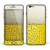 """iPhone 6 más / 6s más adhesivo arte corporal: """"cerveza"""" (serie creativa)"""