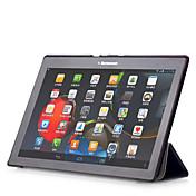 Funda Para Lenovo Funda de Cuerpo Entero Casos Tablet Color sólido Dura Cuero de PU para