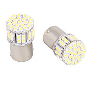 4stk 1156 Bil Elpærer SMD LED LED Baklys For Universell