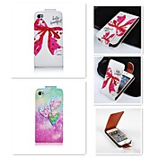 Funda Para iPhone 4/4S Apple Funda de Cuerpo Entero Dura Cuero de PU para iPhone 4s / 4