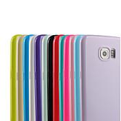 Funda Para Samsung Galaxy Samsung Galaxy S7 Edge Diseños Funda Trasera Color sólido TPU para S7 edge S7