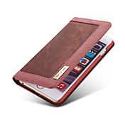 제품 iPhone 8 iPhone 8 Plus 아이폰5케이스 케이스 커버 카드 홀더 지갑 스탠드 플립 풀 바디 케이스 한 색상 소프트 텍스타일 용 iPhone 8 Plus iPhone 8 아이폰 7 플러스 아이폰 (7) iPhone 6s Plus