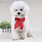 Perro Corbata/Pajarita Ropa para Perro Lazo Negro Rojo Wine Terileno Disfraz Para mascotas Hombre Mujer Bonito Boda