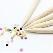 Nail Art Tool arte de uñas Manicura pedicura Madera Clásico Diario