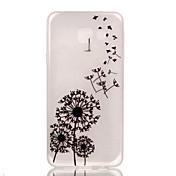 Til Samsung Galaxy Etui Selvlysende Mønster Etui Bakdeksel Etui Løvetann TPU til Samsung A3(2016)