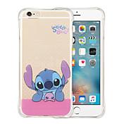 Funda Para Apple iPhone X iPhone 8 iPhone 6 iPhone 6 Plus Antigolpes Transparente Funda Trasera Caricatura Suave Silicona para iPhone X