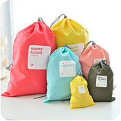 4 piezas Bolsa de Viaje Organizador para viaje Bolsa para Zapatos Impermeable A prueba de polvo Múltiples Funciones Almacenamiento para
