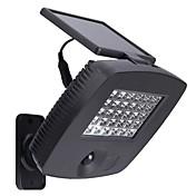 30Leds lámpara ultra brillante al aire libre con energía solar de movimiento PIR sensor de luz muro de seguridad para el jardín