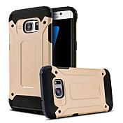 Para Samsung Galaxy S7 Edge Antigolpes / con Soporte Funda Cubierta Trasera Funda Armadura Policarbonato Samsung S7 edge / S7